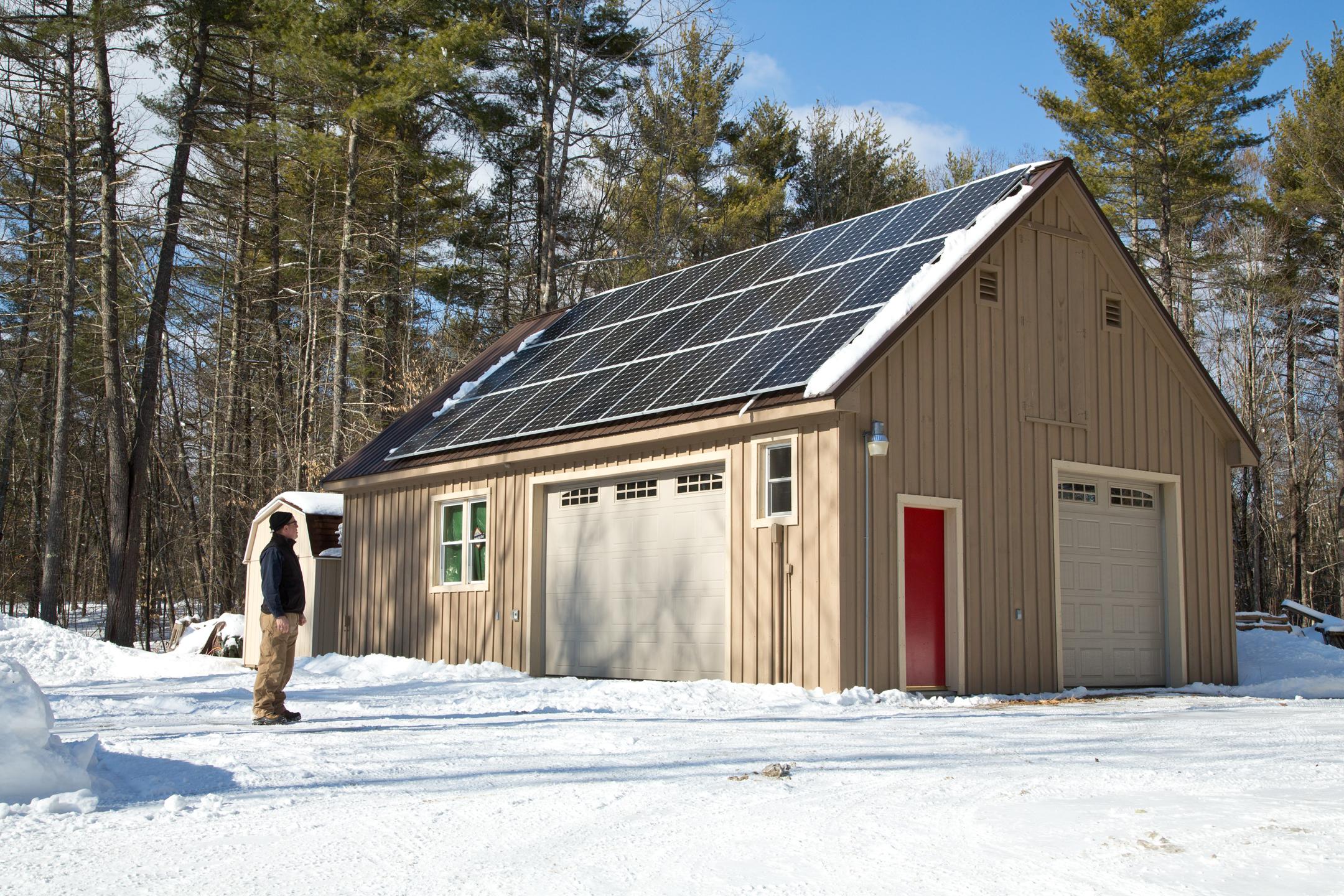 Installing Solar in Maine